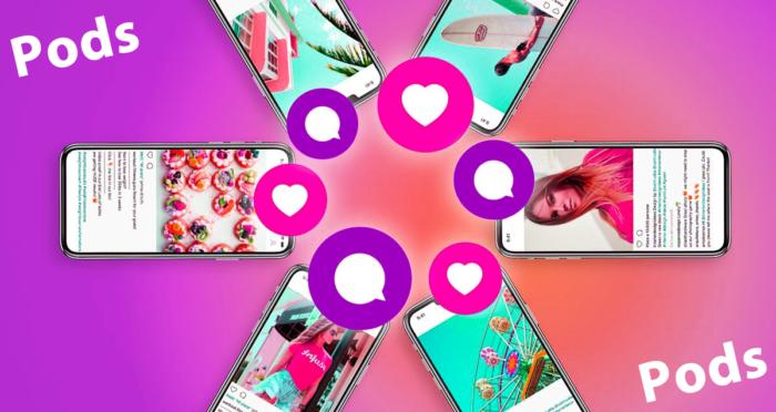 post información de los instagram pods